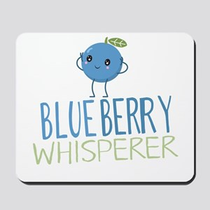 Blueberry Whisperer Mousepad